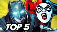 Suicide Squad and Batman - TOP 5 Stories