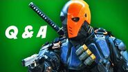 Arrow Season 2 Q&A - Team Deathstroke Edition
