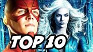 The Flash Season 3 Episode 5 Killer Frost TOP 10 and Easter Eggs
