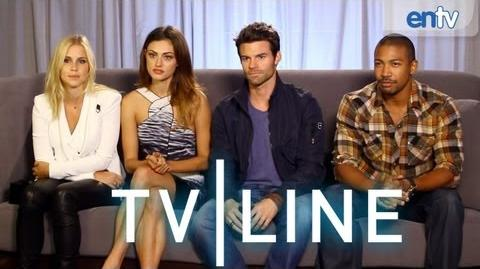 """The Originals"" Interview - Comic-Con 2013 - TVLine"