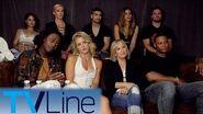 Arrow Interview Michael Emerson Reaction + Double Wedding? Comic-Con 2017 TVLine