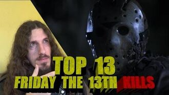 Top 13 Friday the 13th Kills