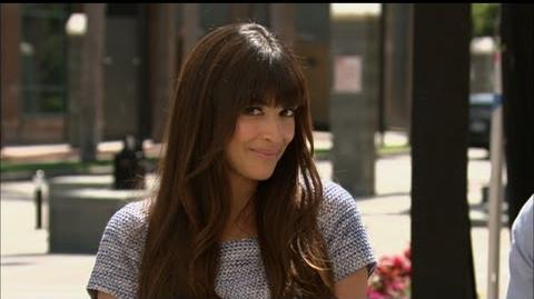 """New Girl's"" Hannah Simone Plays Terrence J"