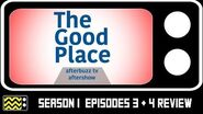The Good Place Season 1 Episodes 3 & 4 Review & After Show AfterBuzz TV