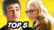 The Flash Episode 18 All Star Team Up - TOP 5 WTF and Easter Eggs