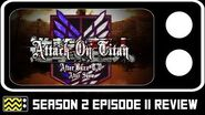 Attack on Titan Season 2 Episode 11 Review & After Show AfterBuzz TV
