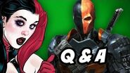 Arrow Season 2 Q&A - Deathstroke Teen Titans Edition