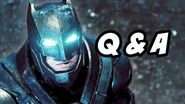 Batman v Superman Trailer Q&A - The Flash and Arrow