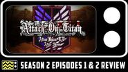 Attack On Titan Season 2 Episodes 1 & 2 Review & After Show AfterBuzz TV