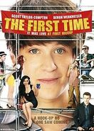 DVD cover of the movie The First Time 2009