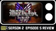 Attack On Titan Season 2 Episode 5 Review & After Show AfterBuzz TV