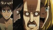 """Attack On Titan After Show Season 1 Episode 10 """"Answer"""" AfterBuzz TV"""