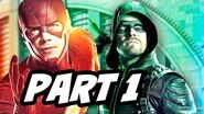 The Flash Arrow Supergirl Legends Crossover Part 1 Explained