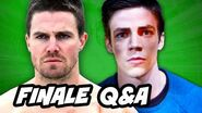 Arrow Season 3 and The Flash Mid Season Finale Q&A