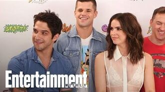 Teen Wolf Shelley Hennig, Tyler Posey Tease Multiple Nude Scenes SDCC 2017 Entertainment Weekly