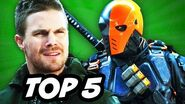 Arrow Season 3 Episode 14 - TOP 5 WTF