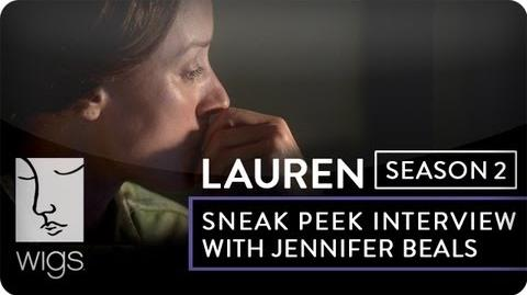 """Lauren"" BTS Sneak Peek Jennifer Beals on The Service Women's Action Network WIGS"