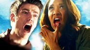 The Flash Season 3 Episode 12 - The Flash vs Iris West Death TOP 10 and Easter Eggs