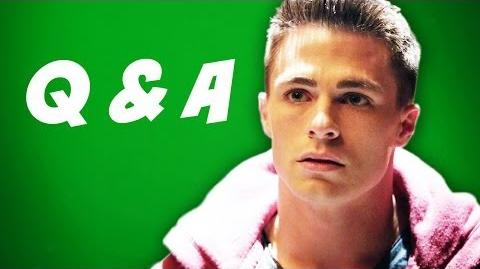 Arrow Season 2 Q&A - Superbowl 2014 Edition