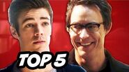 The Flash Episode 19 Who Is Harrison Wells - TOP 5 WTF
