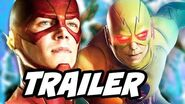 The Flash 3x17 Promo Flash Supergirl Crossover and Epic Reverse Flash Scene Mistake Explained