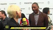 Carl Weathers @ The Attack On Titan Part 1 Premeire