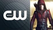 Colton Haynes Suits Up for Arrow & Black Lightning's Premiere Lights Up the CW CW Weekly