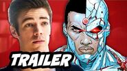 The Flash Episode 20 Trailer and Cyborg Wally West Spinoff