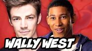 The Flash Season 2 Wally West Reaction