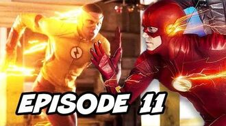 Legends of Tomorrow Season 3 Episode 11 Wally West Flash - TOP 10 WTF and Easter Eggs