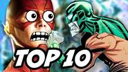 The Flash Season 3 Episode 4 Mirror Master TOP 10 WTF and Easter Eggs