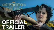 Miss Peregrine's Home for Peculiar Children Official Trailer HD 20th Century FOX