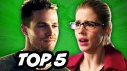 Arrow Season 3 Episode 11 - TOP 5 WTF