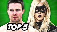 Arrow Season 3 Episode 10 - TOP 5 WTF