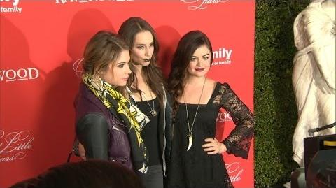"""Pretty Little Liars"" Hit the Red Carpet"
