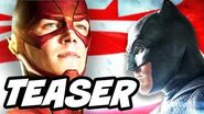 Batman v Superman The Flash Justice League Teaser Breakdown