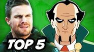 Arrow Season 3 Episode 20 The Fallen - TOP 5 WTF