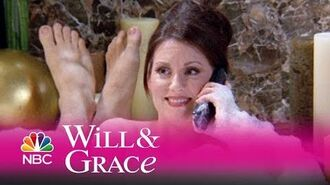 Will & Grace - Karen's Bubble Bath Wisdom (Highlight)