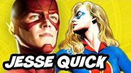 The Flash Season 2 - Jesse Quick Comic Book History
