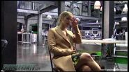 Emily Bett Rickards on Felicity Smoak's Courage Arrow Season 6 on Set