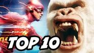 The Flash Season 3 Episode 13 - TOP 10 and The Flash Easter Eggs