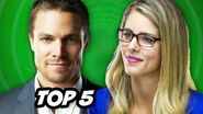 Arrow Season 3 - Olicity Kiss and Top 5 Comic Book Couples