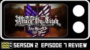Attack On Titan Season 2 Episode 7 Review & After Show AfterBuzz TV