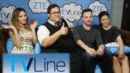 Scorpion Interview - TVLine Studio Presented by ZTE at Comic-Con 2016