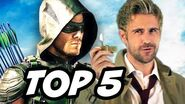 Arrow Season 4 Episode 5 Constantine - TOP 5 WTF and Easter Eggs