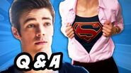 The Flash Finale Legends of Tomorrow Supergirl Q&A