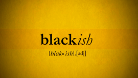 Black-ish intertitle