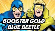 Batman v Superman Spinoff Booster Gold Blue Beetle Movie