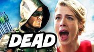 Arrow Season 4 WTF Killed in Grave Scene