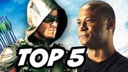 Arrow Season 4 Episode 7 - TOP 5 WTF and Easter Eggs